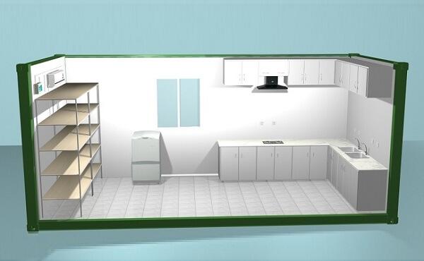 کانکس آبدارخانه و آشپزخانه 15