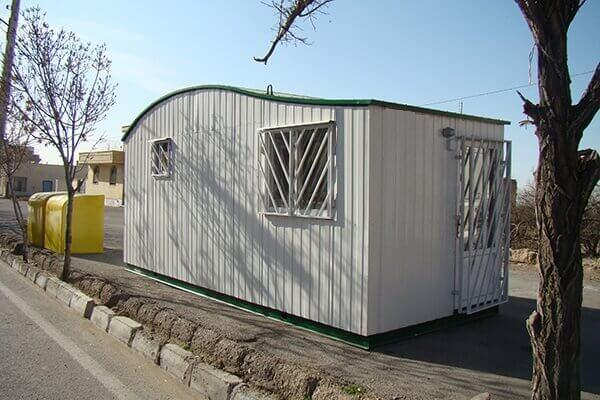 کانکس غرفه بازیافت زباله 82