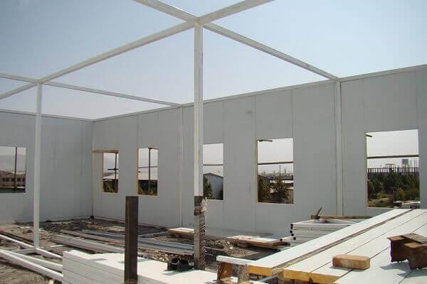 کمپ پیش ساخته پانلی 138